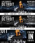 FB Cover Like Curves In Detroit Motor Show by n2n44studio
