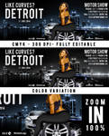 FB Cover Like Curves In Detroit Motor Show