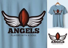 Logo Football Angels by n2n44studio
