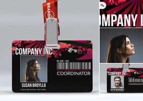 Creative Event Badge by n2n44studio