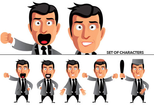 Set of characters