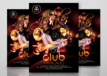 Classy Retro Modern Party In Club by n2n44studio