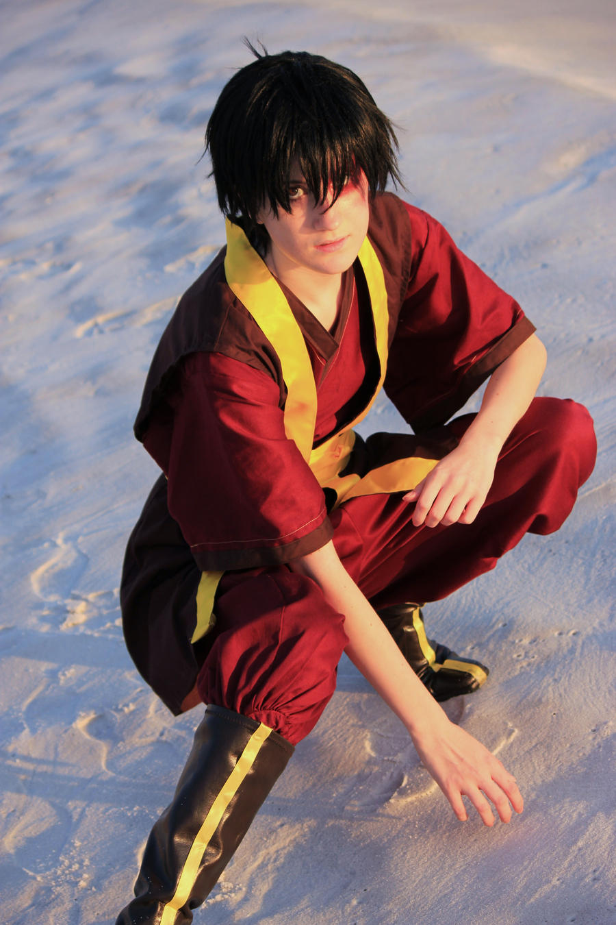 Avatar the Last Airbender: Firebender by pansypixie
