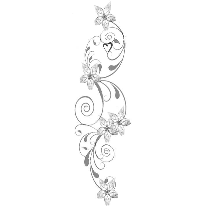 Flower Design - flower tattoo