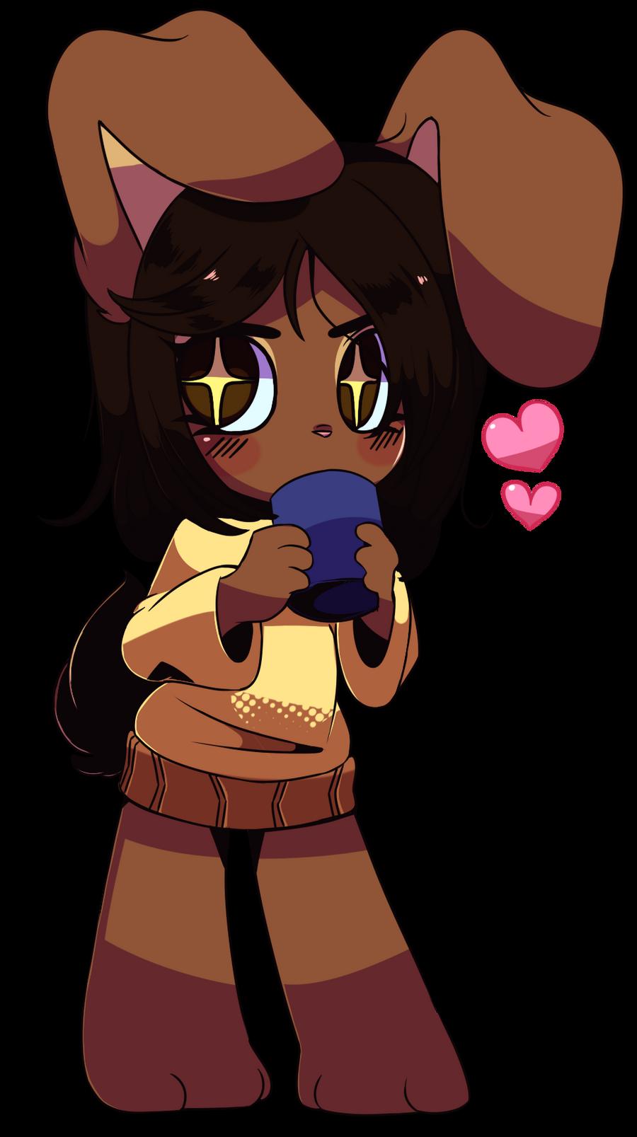 Chibi Chocolate Bunny By Queenashi On Deviantart