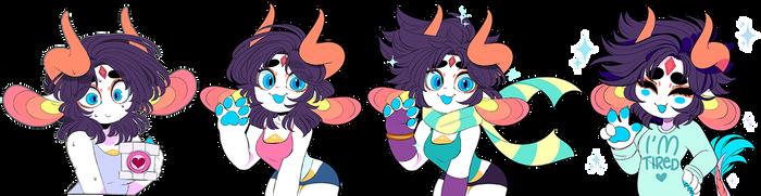 Shiji Emojis by QueenAshi
