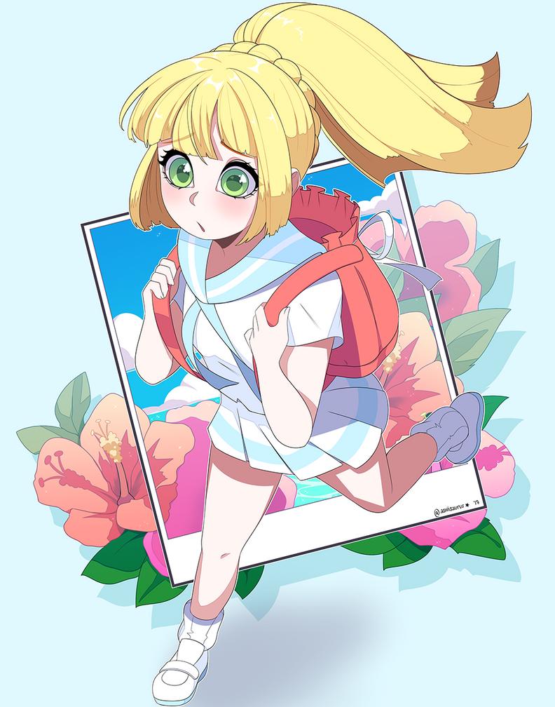 Pokemon: Z Form Lillie