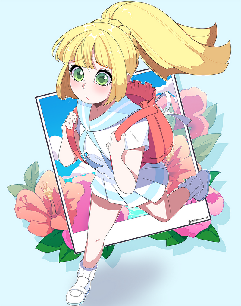Pokemon: Z Form Lillie by QueenAshi on DeviantArt