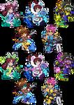 Overwatch Kemonomimi Charms