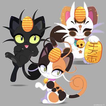 Pokemon: Meowth Variations