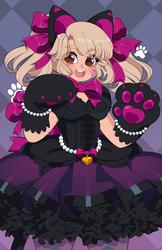 Overwatch: Black Cat d.Va by QueenAshi