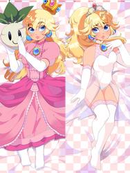 Nintendo: Princess Peach Dakimakura by QueenAshi