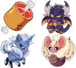 Monster Hunter World Charms
