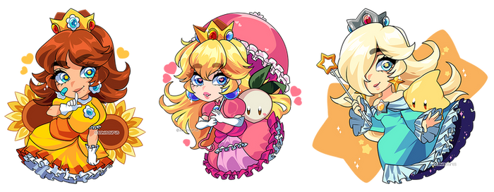 Nintendo: Mario Princess Charms