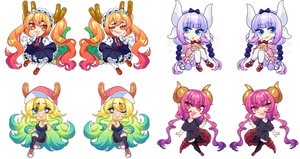 Miss Kobayashi's Dragon Maid Charms 2021
