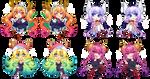 Miss Kobayashi's Dragon Maid Charms 2021 by QueenAshi