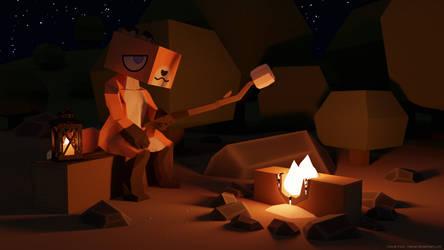 Campfire by haicat