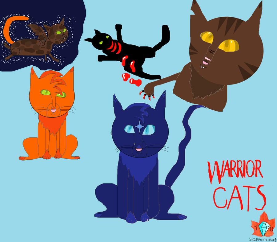Warrior Cats Dawn Of The Clans Fanart: Warrior Cats Fan Art By Sapphireleaf10 On DeviantArt