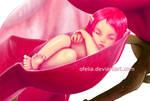 Sleeping Faerie by ofelia