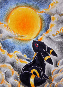 Mondlicht (ACEO 52) by Naousuke