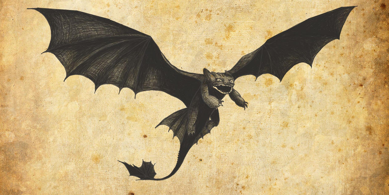 Flying Toothless by Pixelbridge on DeviantArt