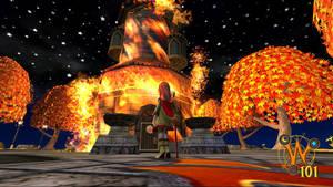 Wizard101 Wallpaper - Flames