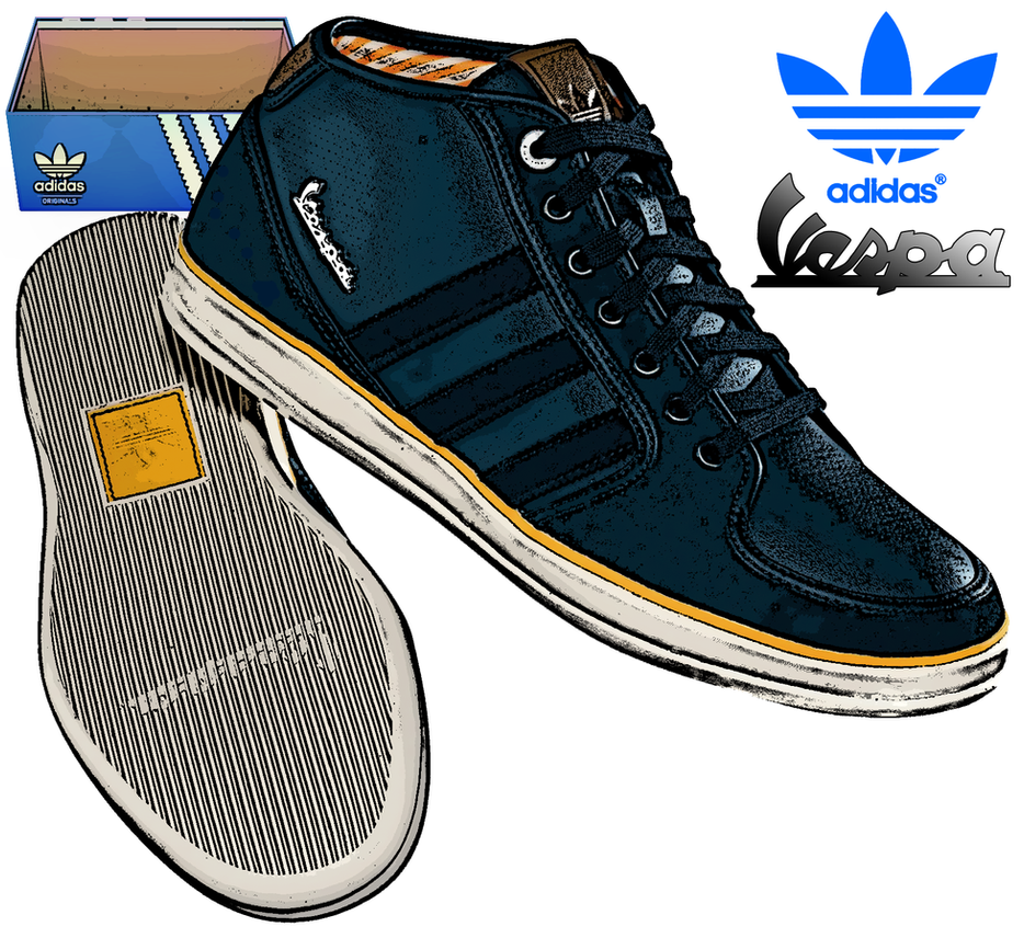 Adidas Vespa Shoes Foot Locker
