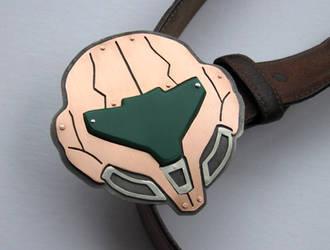 Samus Helmet Belt Buckle