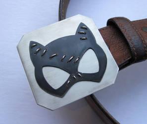 Catwoman Belt Buckle
