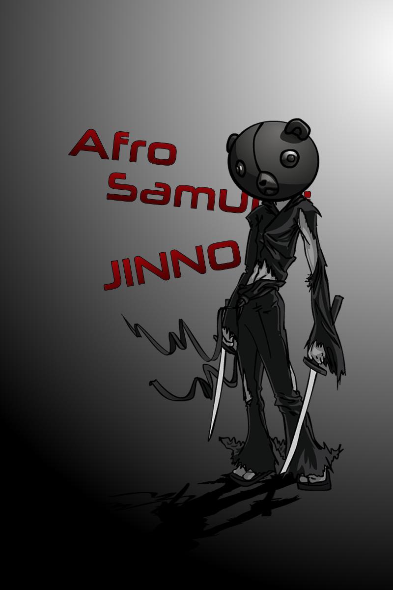 Jinno from afrosamurai fan art 2 by Pjczar
