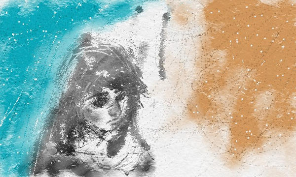 girl in snow by Pjczar
