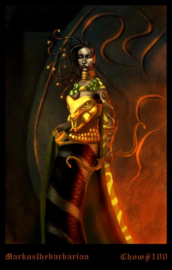 Medusa Queen by MarkTarrisse