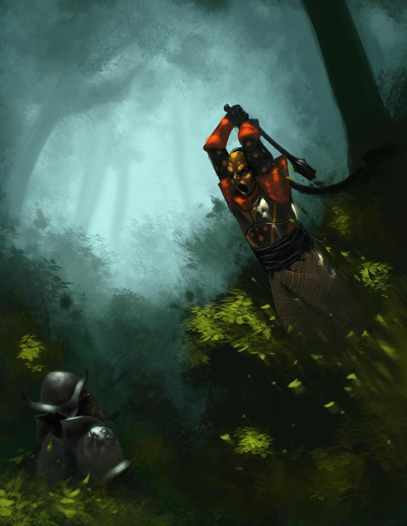 Duel by MarkTarrisse