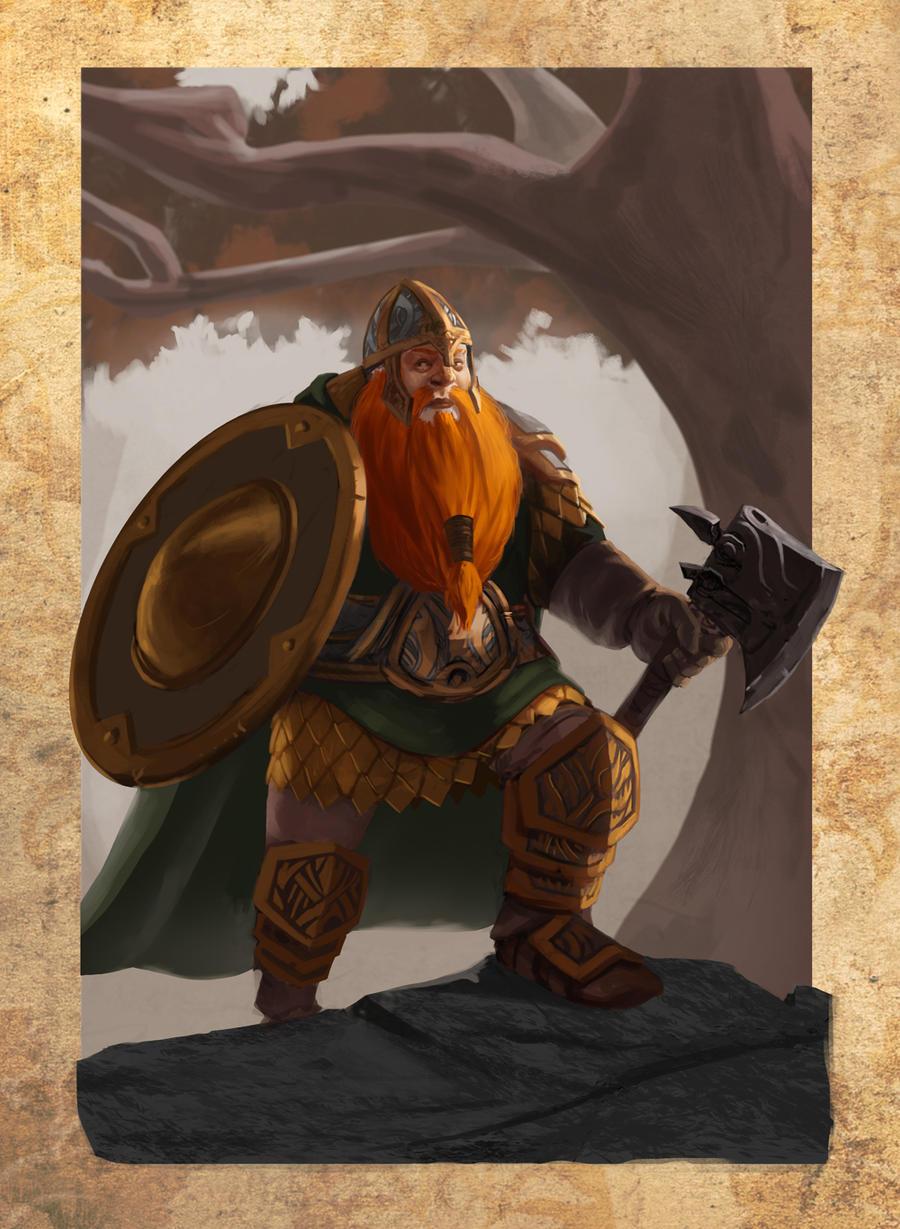 Dwarf by MarkTarrisse