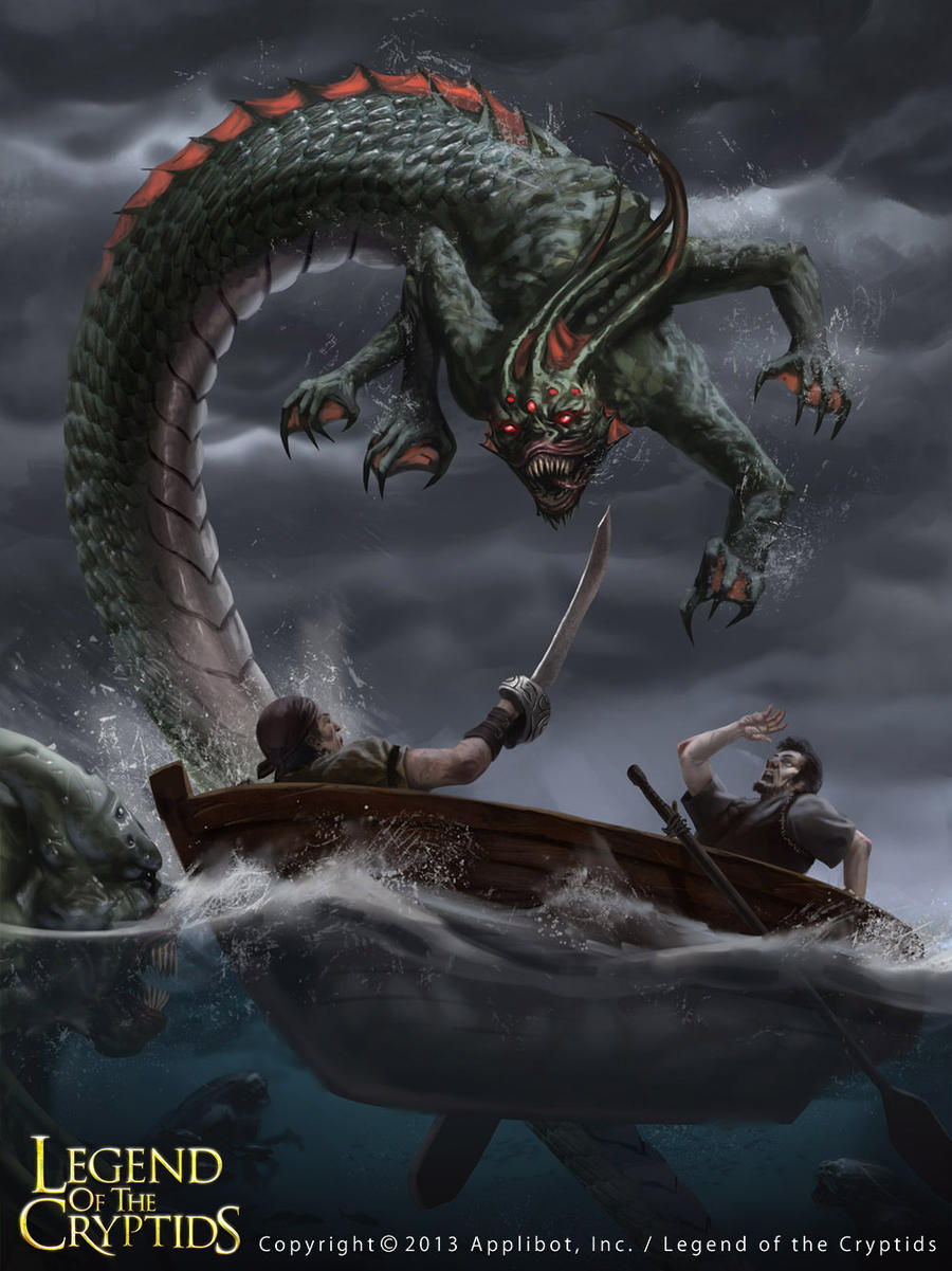 giant octopus attack