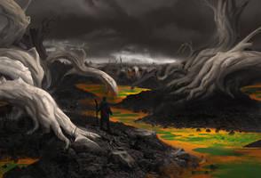 Toxic Swamp by MarkTarrisse
