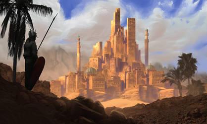 City in the desert