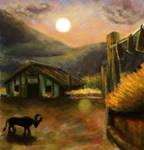 Ordon Ranch at Sunset