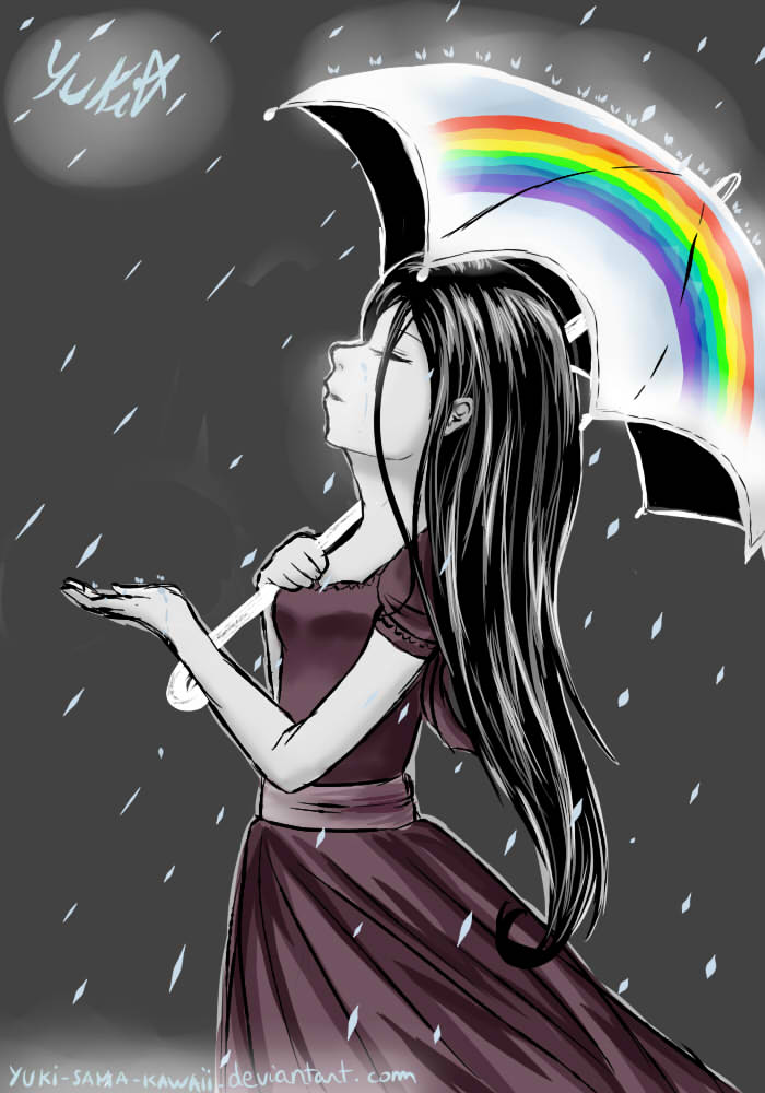 Dreaming of a rainbow by yuki-sama-kawaii