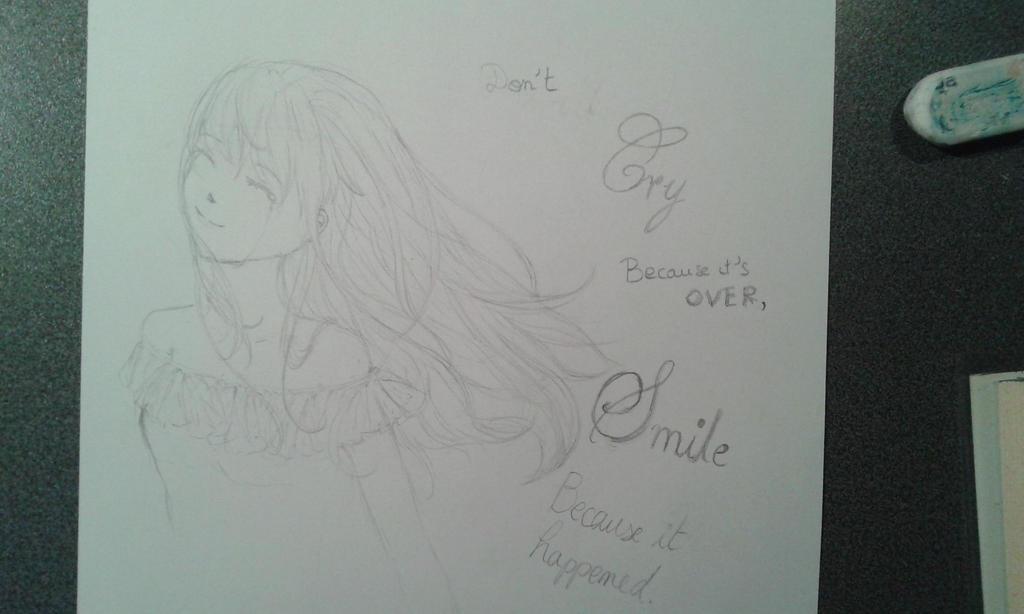 Don't cry, smile by yuki-sama-kawaii