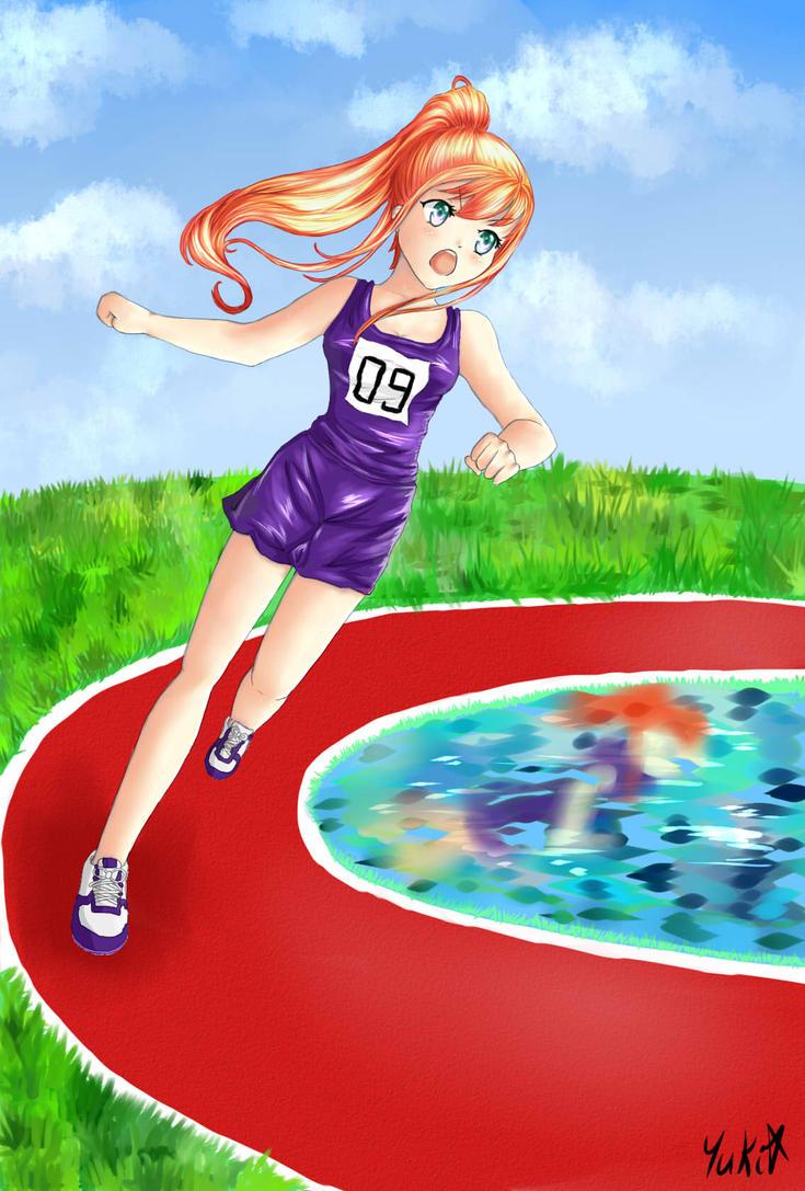 SPEEDPAINT- Runner number 09 by yuki-sama-kawaii