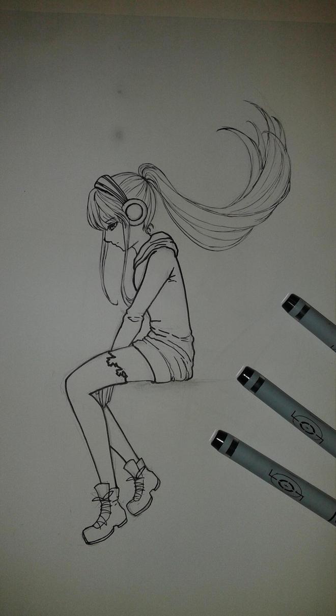 Lost in her mind by yuki-sama-kawaii