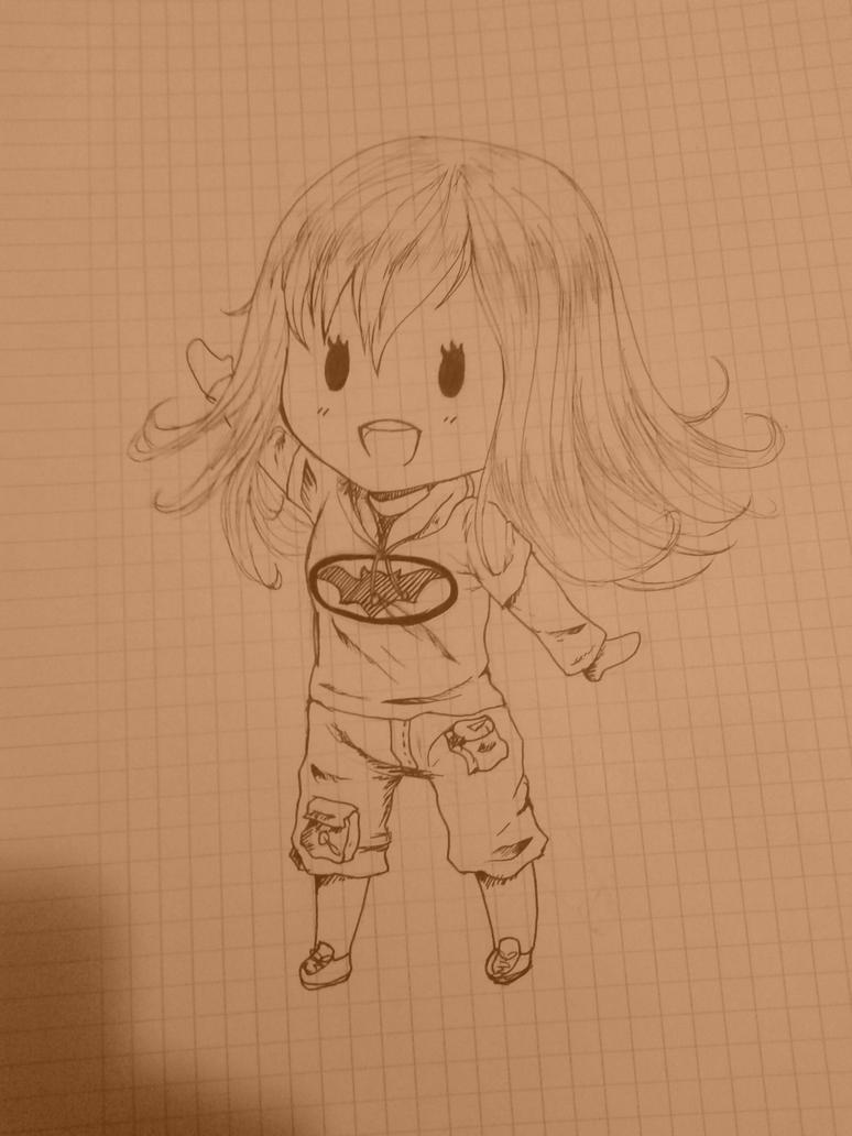 Little sketch by yuki-sama-kawaii