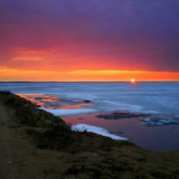 Spring Lake Sunset 3 by niksuo