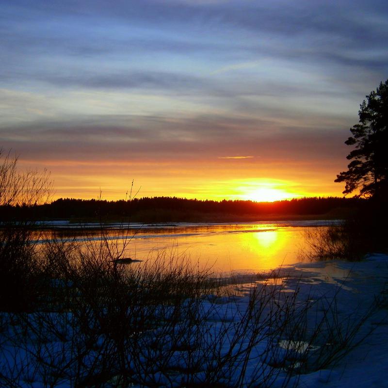 Spring Lake Sunset 4 by niksuo