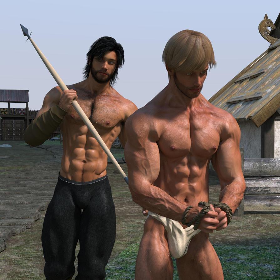 image Crucified bondage male gay double the fun