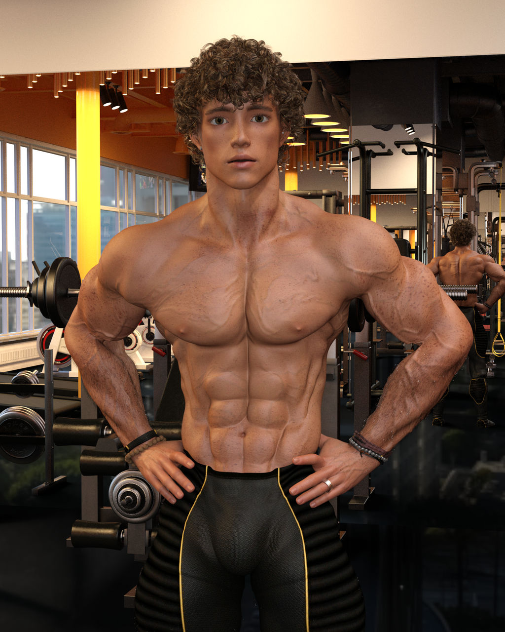 Teen Bodybuilder
