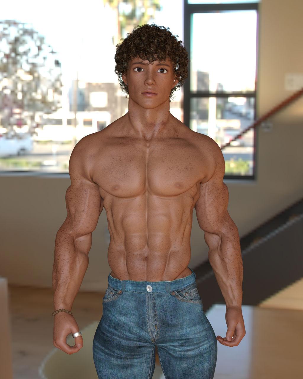 448 Max Teen Bodybuilder 01 By Homoeros On Deviantart