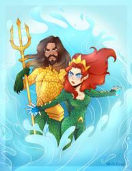 Aquaman by Sketchcee