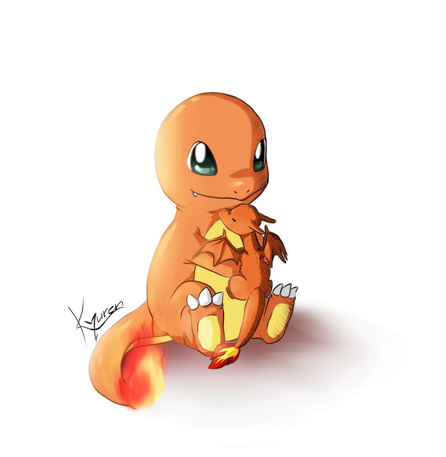 Cute Charmander Drawing